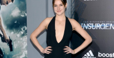 Shailene Woodley excited for new movies Adrift and No Baggage